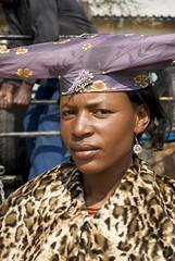 Femme Herero. Opuwo. Namibia (courregesg) Tags: africa girls portrait women femme young tribal tradition tribe ethnic namibia fille afrique tribu jeune southernafrica namibie