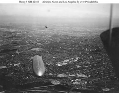 Zeppelins in Flight (lazzo51) Tags: aviation science usnavy blimps airships zeppelins luftschiff dirigibles ussakron zrs4