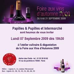 invitation Intermarché