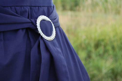 dress belt detail