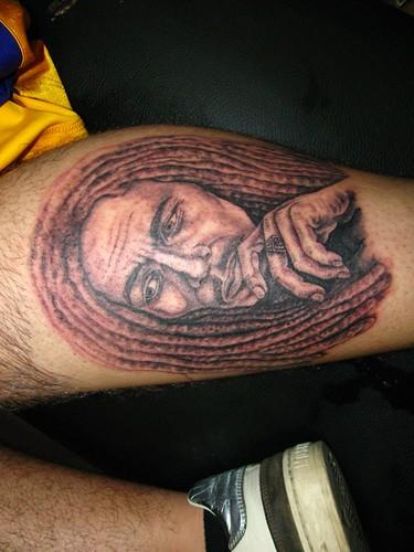 bob marley tattoo taksim dövmeci. www.taksimdovmeci.com