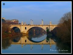 Ponte Flaminio, Flaminio Ponte (Fabrizio e gli scatti) Tags: domenica bicicletta afuoco cieloromano giardinoromano fabrizioarmelisasso fabrizioegliscatti