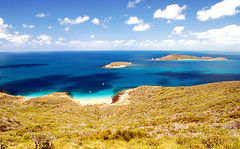 Great Keppel Island (msdstefan) Tags: pictures ocean trip travel vacation sky panorama sun holiday sol praia beach strand landscape island coast soleil sand pacific pics urlaub au himmel bank australia playa nikond50 best insel southpacific queensland australien ufer landschaft sonne plage rtw isla zon spiaggia downunder nicest kste oceania pazifik ozean greatkeppelisland ammeer  ozeanien  landschaftsbild  flickraward denizkys thisphotorocks internationalgeographic worldtrekker 100commentgroup pazificislands expressyourselfaward stefansbest