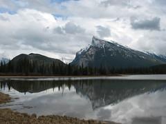 Vermillion Lakes, Alberta (KerryElaine) Tags: mountain lake mountrundle banffnationalpark vermillionlakes mountainsociety