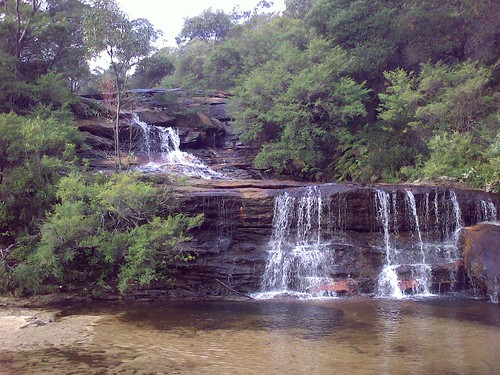 Wentworth Falls Looking Up