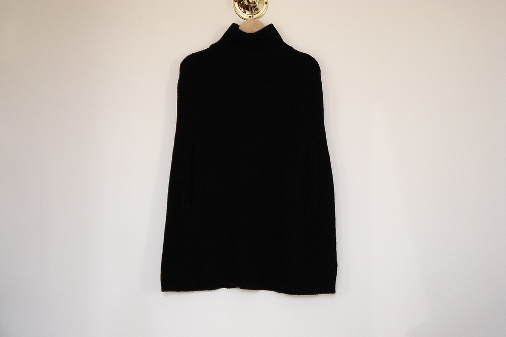 H&M sweater cape