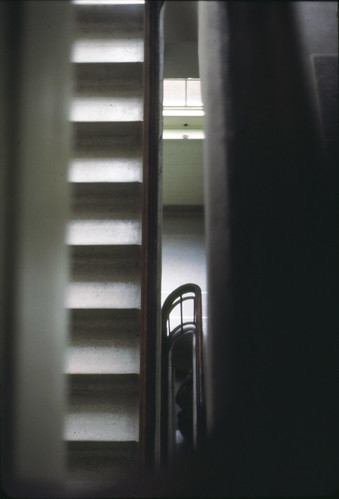 Stairwell at University of Texas at Austin campus