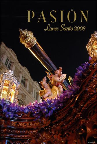 Cartel Lunes Santo 2008 Hermandad de Pasión