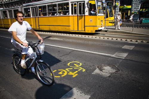 Budapest Bike Lane