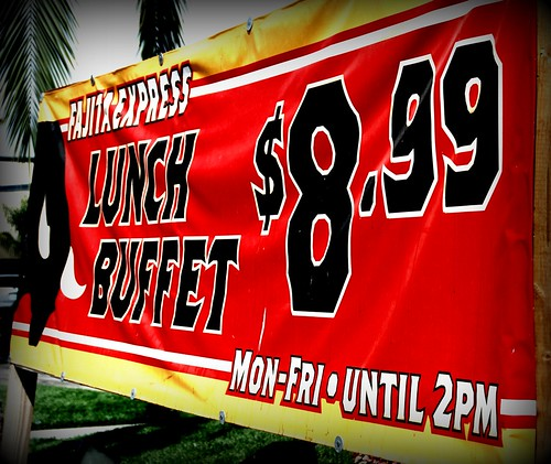 The new El Torito lunch Buffet in Valencia, CA by you.