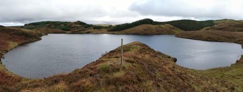 Loch Lasg. Kilmelford Hill Lochs.Copyright Brian Turner
