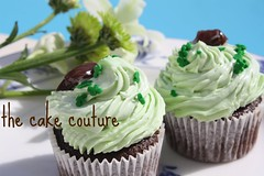 46. After Eight Cupcake (The Cake Couture (is currently not taking any orde) Tags: chocolate mint cupcake aftereight doha qatar                  thecakecouture