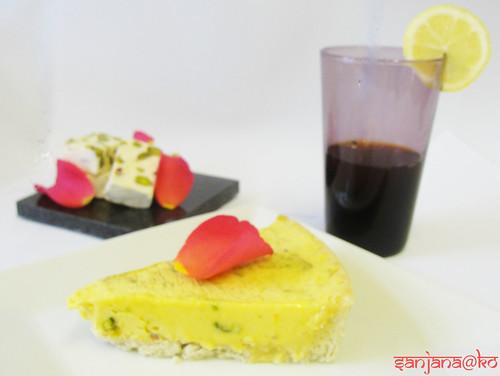 persian choc tart