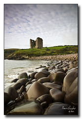 Minard Castle small (riverhouse_foto (Francis Quigley)) Tags: ireland sea castle rocks dingle kerry explore minard 10faves johnhooton carrickcameraclub imagesoflightdingle carrickcameraclubmember