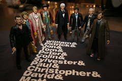 8 out of 11 Doctors agree... (jjm3) Tags: doctorwho actionfigures drwho recorder tombaker peterdavison colinbaker patricktroughton davidtennant christophereccleston jonpertwee experimentaljetset williamhartnell tshirtism characteroptions sonicscrewdrivers soniclance