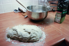 No knead bread in progress