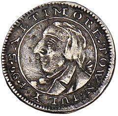 1790 Standish Barry threepence obverse