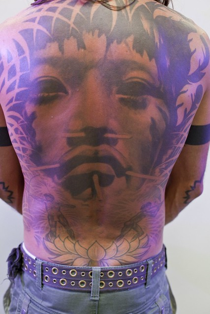 back body tattoo