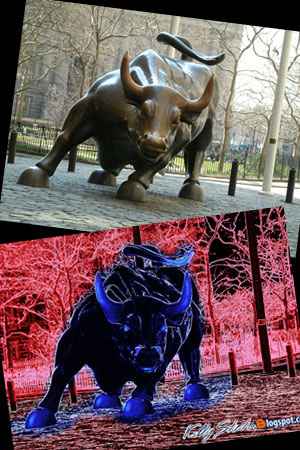 Wall Street Blue Bull