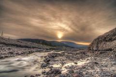 [フリー画像] [自然風景] [河川の風景] [朝日/朝焼け] [HDR画像]       [フリー素材]