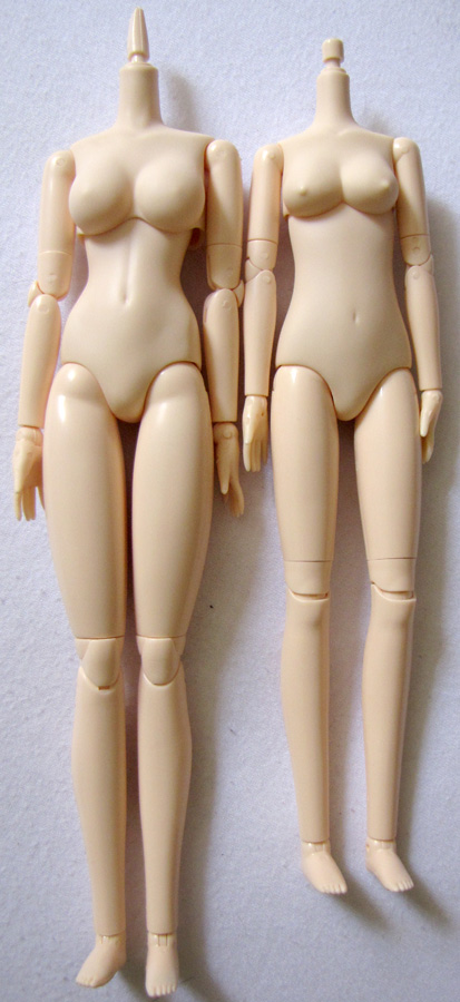 Obitsu Comparison - Full bodies