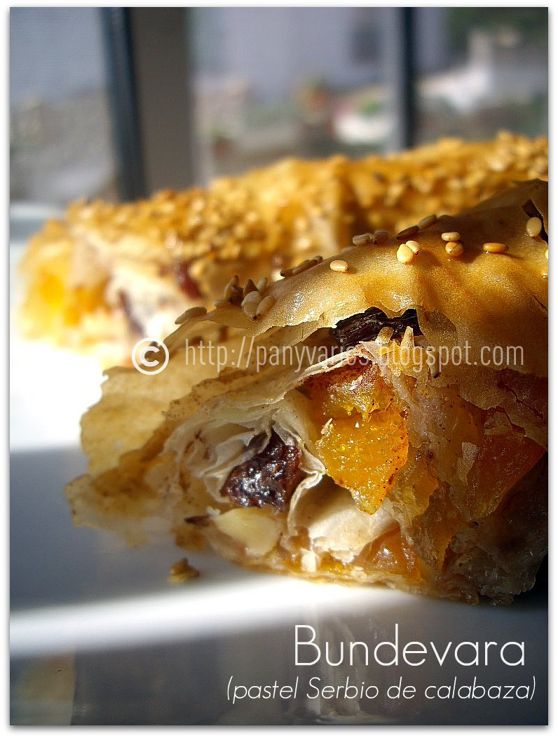 Bundevara (pastel Serbio de calabaza) (41)
