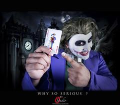 WHY SO SERIOUS ? (O-STUDIO) Tags: model nikon serious osama batman joker why kuwait mohamed kuwaiti almajed 2470mm abdeen d700 wwwosamaalmajedcom
