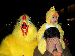 costumes toronto bird chicken halloween babychicken halloweek gayvillage churchwellesley jasonparis