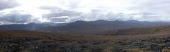 South Ridge View (Travis S.) Tags: autostitch panorama mountains alaska clouds river south panoramic ridge valley nome survey sewardpeninsula stewartriver horseshoeridge stewartrivericepatchsurvey