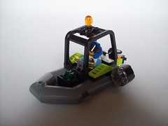 Power Miners - Caveboat Explorer (r a p h y) Tags: water boat power lego explorer cave miners watercave poewr minerz caveboat watercavern icanhaswaterpowerminers