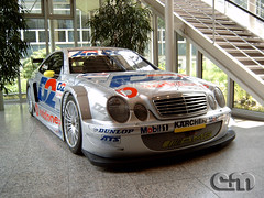 Mercedes Benz CLK DTM (W208) (eplusm) Tags: museum germany deutschland mercedes benz stuttgart samsung mercedesbenz vodafone em dtm d2 amg clk arcor techwin w208 eplusm digimax340 s3400003l