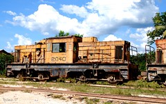 Old bauxite train