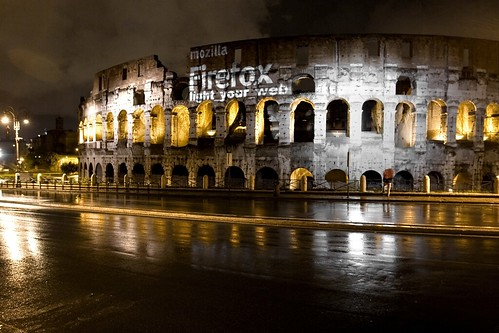 Firefox on Colosseum