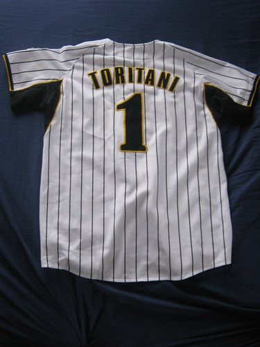 Toritani! My second favorite Japanese baseball player.