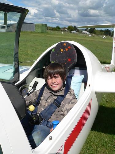 A happy aviator!