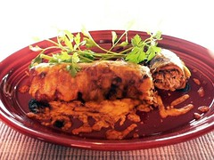 Chicken Mole Enchilada