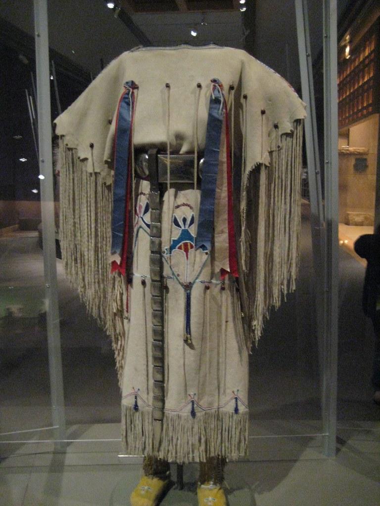 Kiowa Three-Hide Dress
