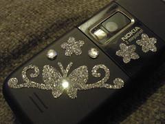 I pimped my slightly worn Nokia 6233