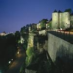 Luxembourg: vue sur les Trois Tours