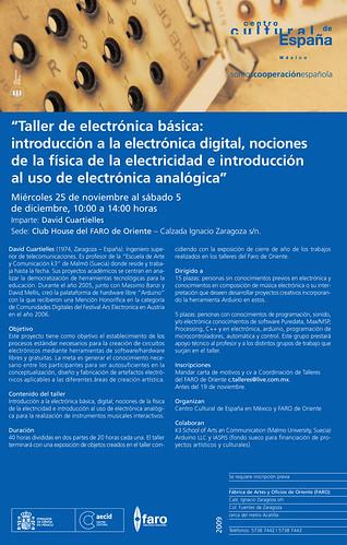 Arduino Workshop in Mexico DF