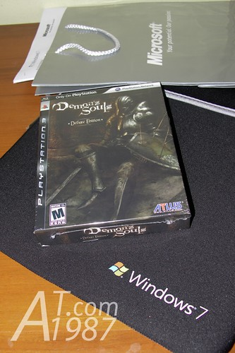 Demon's Souls and Windows 7 press kit