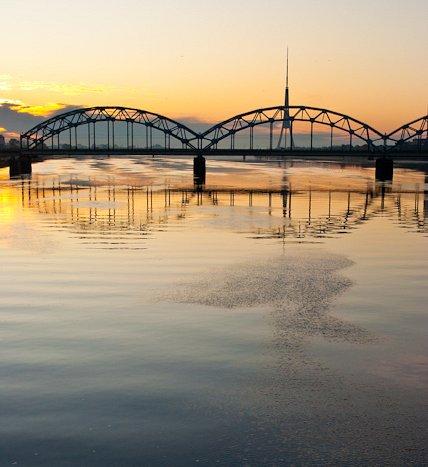 One autumn day in Riga.Dawn DSC_4764