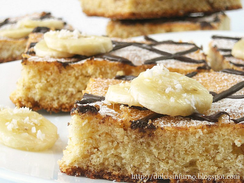 Tranci Cocco-Banana-Coconut and Banana Slices