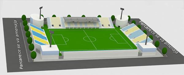 Proiectul Primariei Ploiesti de reconstructie a stadionului Ilie Oana