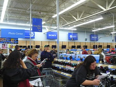 Walmart on Black Friday 2009