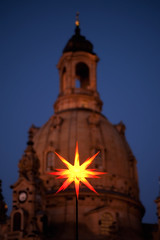 Happy 1st Advent! (ill-padrino www.matthiashaker.com) Tags: christmas our church lady weihnachten star dresden frauenkirche striezelmarkt stadtgetty2010