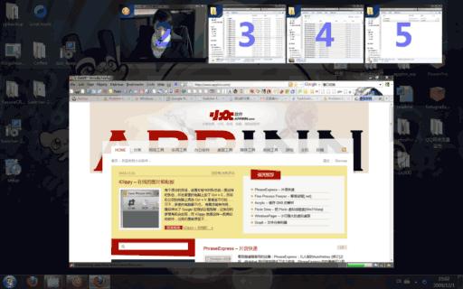 Switcher - Aero 效果的窗口切换工具 1