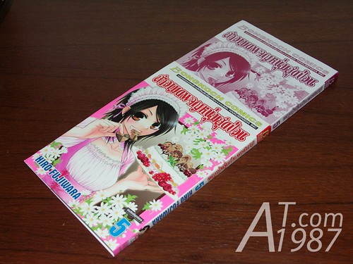 Thai version manga book