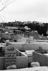 Muslim Graves, Jerusalem by majortom16
