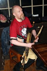Musicans Belfast bar 05-12-09 (5) (emainmacha) Tags: ireland bar pub belfast violin fiddle session irishmusic craic musicans irishsession uilleanpipes uilleanpiper